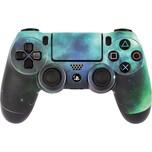 ak tronic Skin für PS4 Controller Galaxy Green