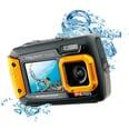 easypix Unterwasser Digitalkamera Aquapix W1400 Active schwarz/orange