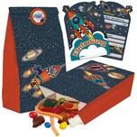 TapirElla Partytüten und Einladungskarten Rakete 32-tlg.