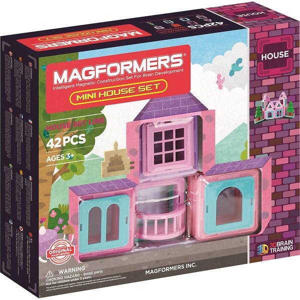 Magformers Mini House Set 42 Teile Booklet