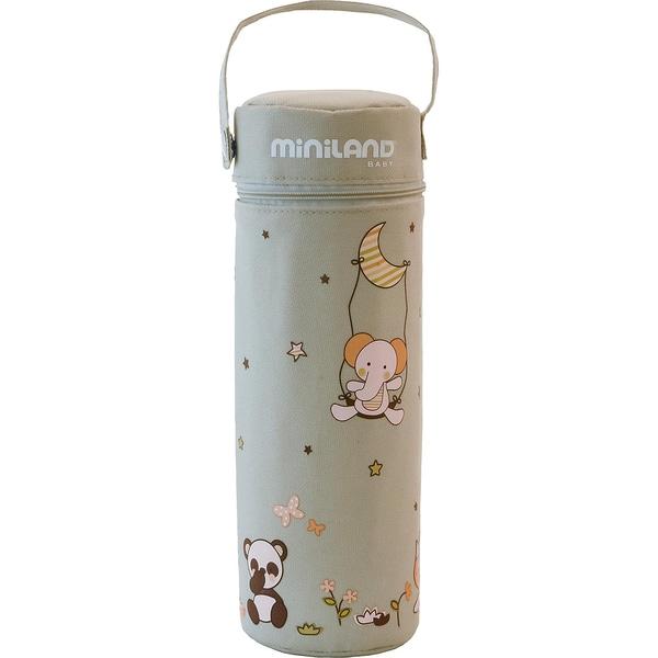 Miniland Babykostwärmer für Unterwegs Thermibag Soft beige