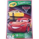 Crayola Cars 3 - XXL Ausmalblätter