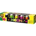 SES Creative Plakatfarben Neon 6 x 50 ml