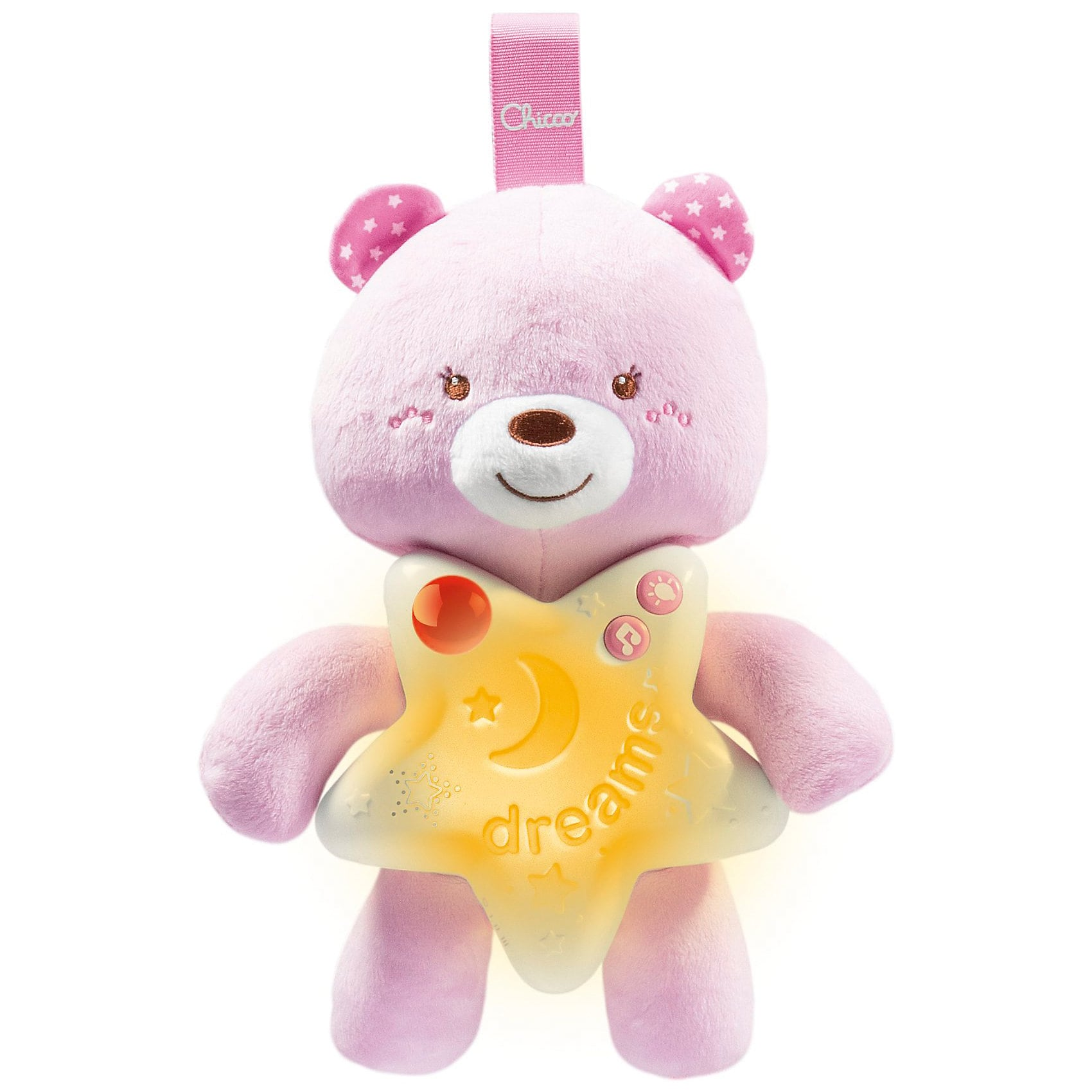 Chicco Babyphone First Dreams Goodnight Friends Girl mit Monitor