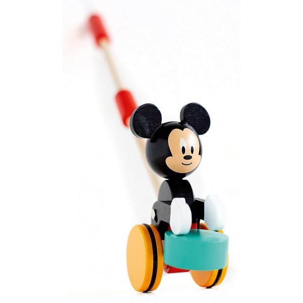 Mickey Mouse Schiebespielzeug aus Holz