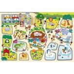 Trefl Giga Puzzle - Zoo 12 Teile