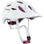 Alpina Fahrradhelm Carapax Jr. white polka dots