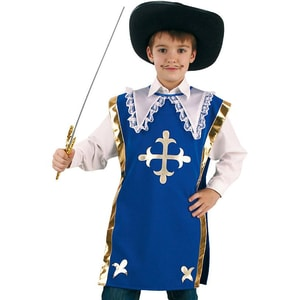 Kunterbunt Kostüm Umhang Ritter Athos