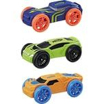 Hasbro Nerf Nitro Soft Racer 3er Pack sortiert