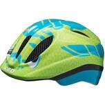 KED Helmsysteme Fahrradhelm Meggy Trend Dino blau-grün