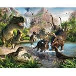 Walltastic Fototapete Dinosaurier 12 tlg.