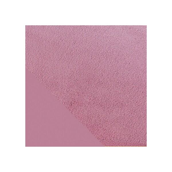 Theraline Bezug für Stillkissen Plüschmond ca. 140 cm malve