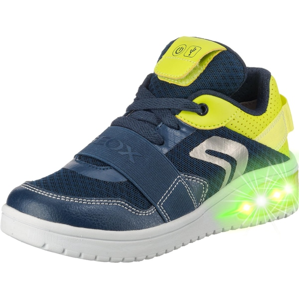 Geox Sneakers Low Blinkies Xled Boy für Jungen Mit Led Sohle