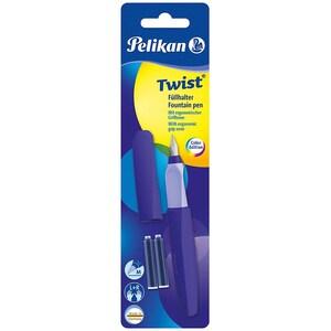 Pelikan Füllhalter Twist Ultra Violet Feder M Inkl. 2 Patronen
