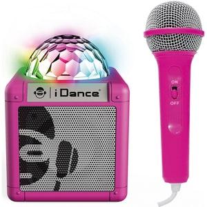 bigben Karaokeanlage Sing Cube 100BK BT Disco Ball wired Micro pink