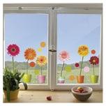 Fenster Sticker Gerberas 20-tlg.