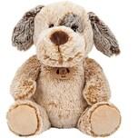 2-farbiger Plüsch Hund 23 cm