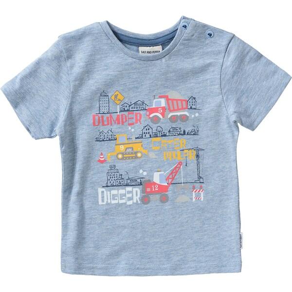 Salt And Pepper Baby T-Shirt für Jungen Baustelle