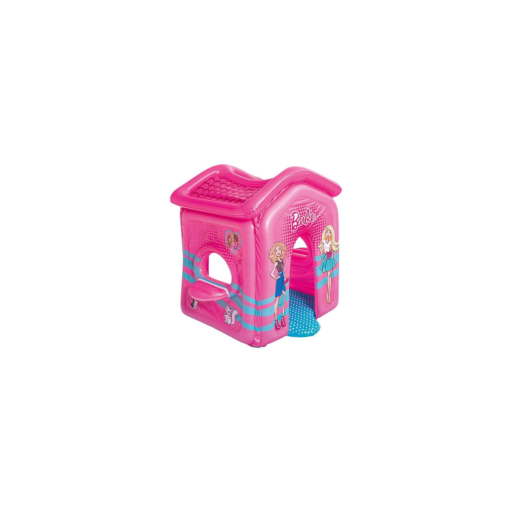 Bestway Aufblasbares Spielhaus Barbie Malibu 150x135x142 cm