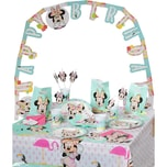 Procos Partyset Minnie Mouse Tropical 56-tlg.