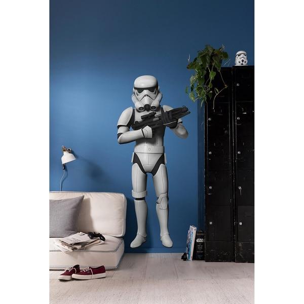 KOMAR Wandsticker Star Wars Das Erwachen der Macht Stormtrooper 100 x 70 cm