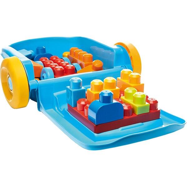 Mattel Mega Bloks Baustein-Rollkoffer
