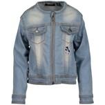 Blue Seven Jeansjacke mit Patches für Mädchen