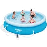 Bestway Fast Set Pool Set mit Filterpumpe 366 x 76cm