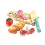 DJECO Rollenspiel Kinderküche - Mittagessen zum schneiden