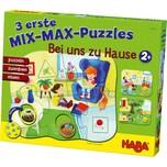Haba 3 erste Mix-Max-Puzzles Bei uns Zuhause