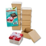 Folia Mini-Pappboxen Eckig 10 Stück
