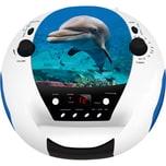bigben CD-Player mit Radio CD52 Delphin