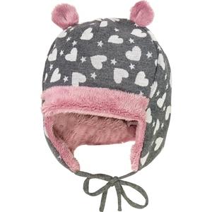 MaxiMo Baby Mütze zum Binden für Mädchen