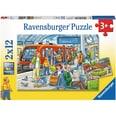 Ravensburger 2er Set Puzzle je 12 Teile 26x18 cm Bitte einsteigen!