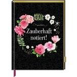 Coppenrath Notizbuch mit glitzerndem Stoffeinband - Zauberhaft notiert! M. Bastin