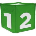 Achoka® Aufbewahrungsbox Würfel Grün
