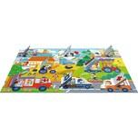 Trefl Flip-Flap Puzzle - Fahrzeuge 36 Teile