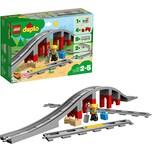 Lego 10872 Duplo Eisenbahnbrücke und Schienen