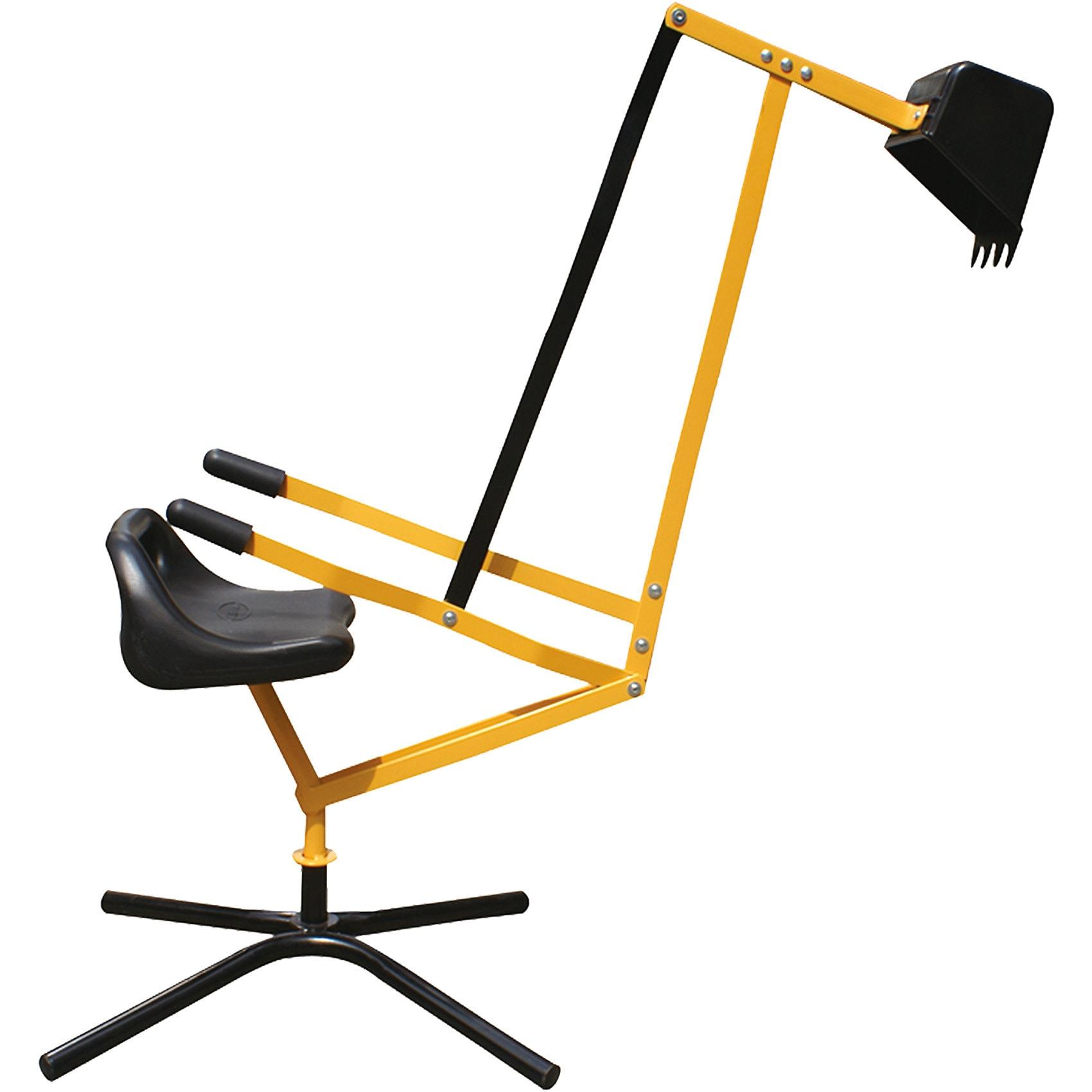 Metall-Sitzbagger