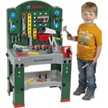 Klein Spielzeug Bosch Große Werkbank grün