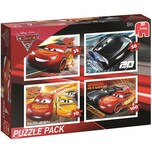 Jumbo 4in1 Puzzle Cars 3 35/50/70/100 Teile
