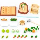 Epoch Traumwiesen Sylvanian Families Gemüsegarten-Set