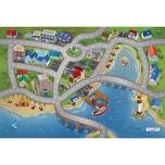 ACHOKA® Spielteppich Stadthafen 80x120 cm