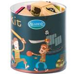 Aladine Aladine STAMPO'KIDS Mini-Stempelset Piraten 16-tlg.