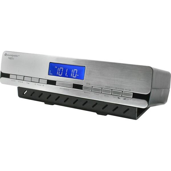 Soundmaster Küchen-Funkuhrenradio zum Unterbau oder als Standgerät verwendbar