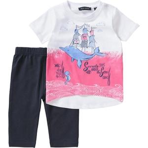 Blue Seven Baby Set T-Shirt Caprileggings für Mädchen