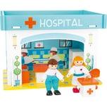 Small Foot Spielhaus Krankenhaus mit Zubehör