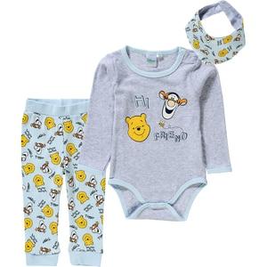 Disney Winnie Puuh Baby Set Body Sweathose Tuch für Jungen