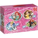 Jumbo 4in1 Konturenpuzzle Disney Princess 14/16/18/20 Teile