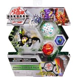 Spin Master Bakugan Starter Pack mit 3 Armored Alliance Bakugan Ultra Hydorous x Trhyno Basic Haos B
